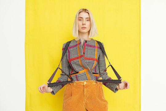 Suspender Fashion Trend