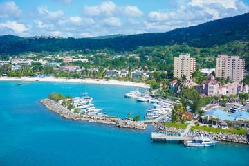 Beautiful Aerial Beach View