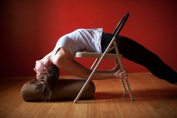 Restorative Yoga Woman
