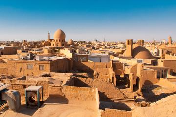 Kashan merchant city Iran skyline