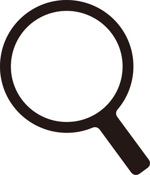 (SVG) magnifying glass / search icon