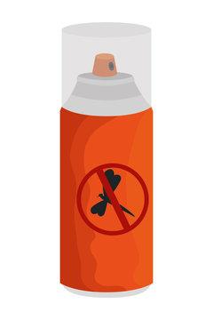 mosquito repellent spray bottle icon