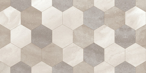 Poster Geometric stone wall background