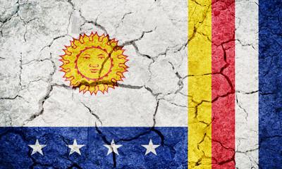 Vargas State flag