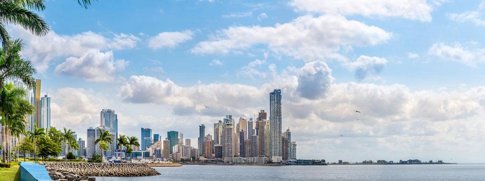 Panoramic view at the Downtown of Panama City - Panama