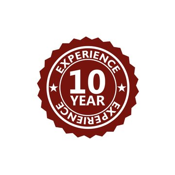 Red Label seal of 10 Year experience