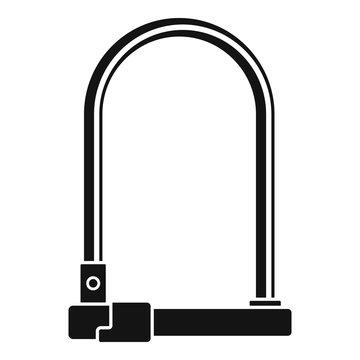 Bike locker icon. Simple illustration of bike locker vector icon for web design isolated on white background