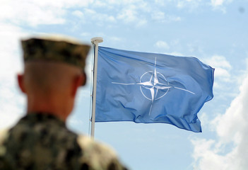 NATO peace-keeping mission KFOR marks 20th anniversary of their formation during a ceremony in Pristina,