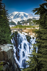 Myrtle Falls at Mt. Rainier