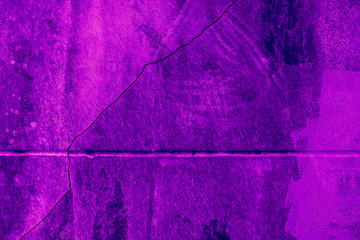 Proton purple background of cement