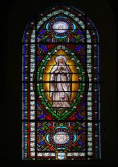 Glas in lood raam La Flotte en Ré