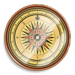 compass, vector isolated illustration.