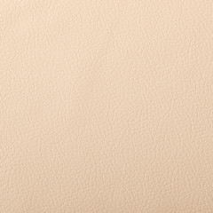 Closeup of light color leather material texture background