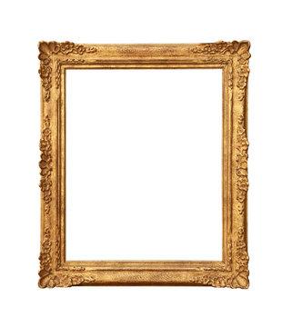 Cadre doré ancien