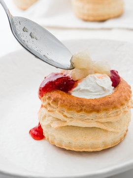 Puff pastry Vol-au-vent
