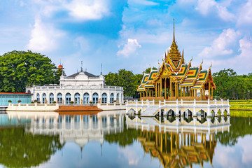 Bang Pa-in Palace is an ancient palace since the Ayutthaya period. Created by King Prasat Thong