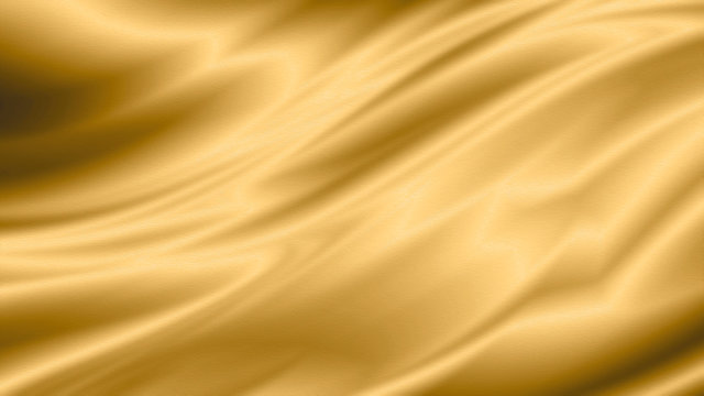 Gold luxury fabric background with copy space