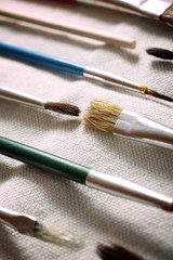 Watercolorist tools view
