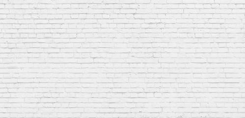 Foto auf Leinwand Wand White brick wall modern Background.