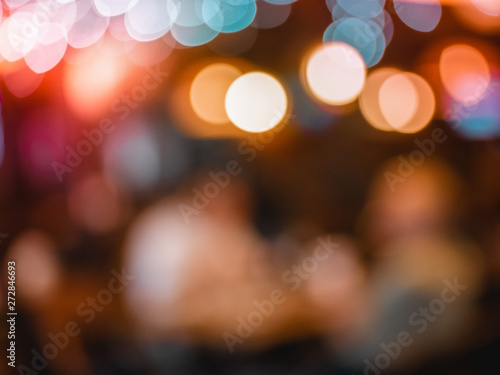 abstract bokeh blurred colorful night light can use