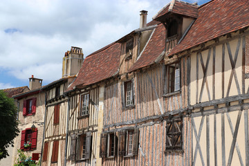 Altstadt von Bergerac, Dordogne, Frankreich