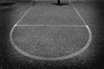 Urban Basketball Shadow Aspalt Sports Competition