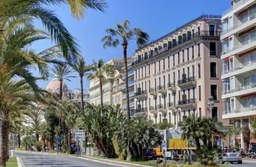 Ville de Nice sous la côte d'Azur