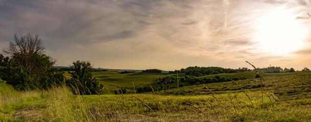 Appalachian sunset on a ridgetop Fototapete
