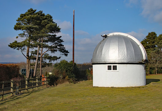 The Norman Lockyer Observatory near Sidmouth in Devon. Lockyer was an amateur astronomer and is part credited with the discovery of Helium on the sun