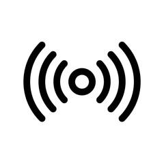 Network signal icon flat vector illustration design