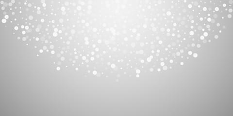 e5644d7d9573 White dots Christmas background. Subtle flying sno