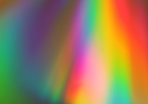 Abstract pink, yellow, blue, green and red lights background
