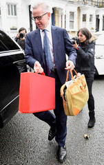 PM hopeful Michael Gove leaves his home in London