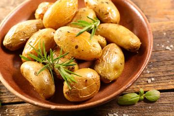 baked potato and rosemary