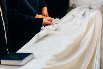 hands priest temple service process serving god