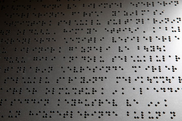 Braille Alphabet Concept