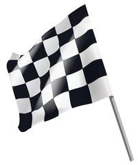 checkered flag symbol