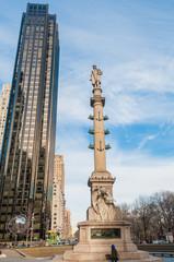 Columbus Circle in New York, United States.