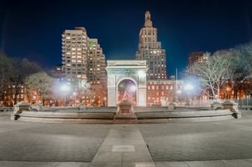 Washington Square in New York, United States.