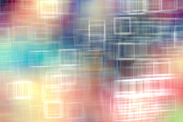Fototapeta multicolored abstract network background / modern technological background, abstraction blurred unusual concept speed
