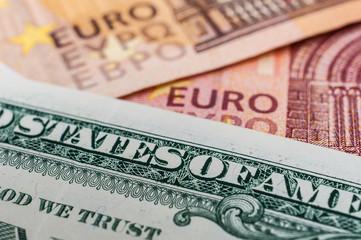 Porträt auf der 1 US Dollar Banknote