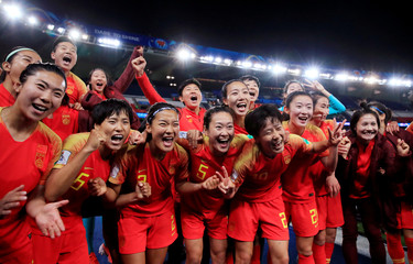 Women's World Cup - Group B - South Africa v China