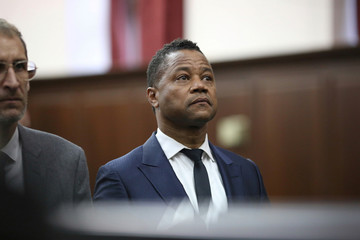 Actor Cuba Gooding Jr. attends his arraignment hearing in New York