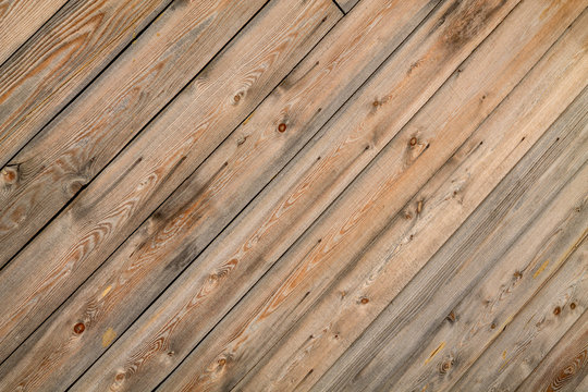 Wooden plank texture background in diagonal pattern