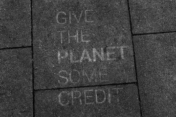 Give the planet some credit
