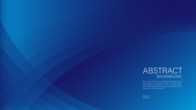 Blue abstract background, wave, Geometric vector, graphic, Minimal Texture, cover design, flyer template, banner, web page, book cover, advertisement, printing template, decoration wallpaper.