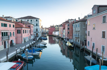 I Canali di Chioggia (Venezia)