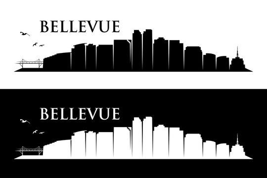 Bellevue skyline - Washington, United States of America, USA