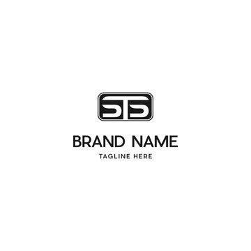 Letter STS Rectangle Unique Logo Design