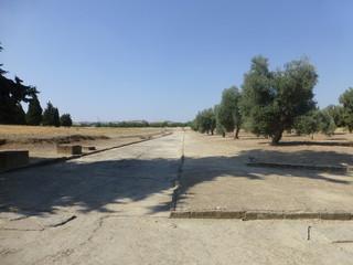 Roman ruins of Italica. Santiponce. Sevilla. Andalusia.Spain